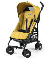 Peg-Perego Pliko Mini Mod Yellow с бампером