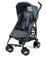Peg-Perego Pliko Mini Blue Denim с бампером