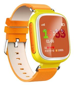 759d2d230334 Детские часы с GPS-трекером Smart Baby Watch Q60S оранжевые